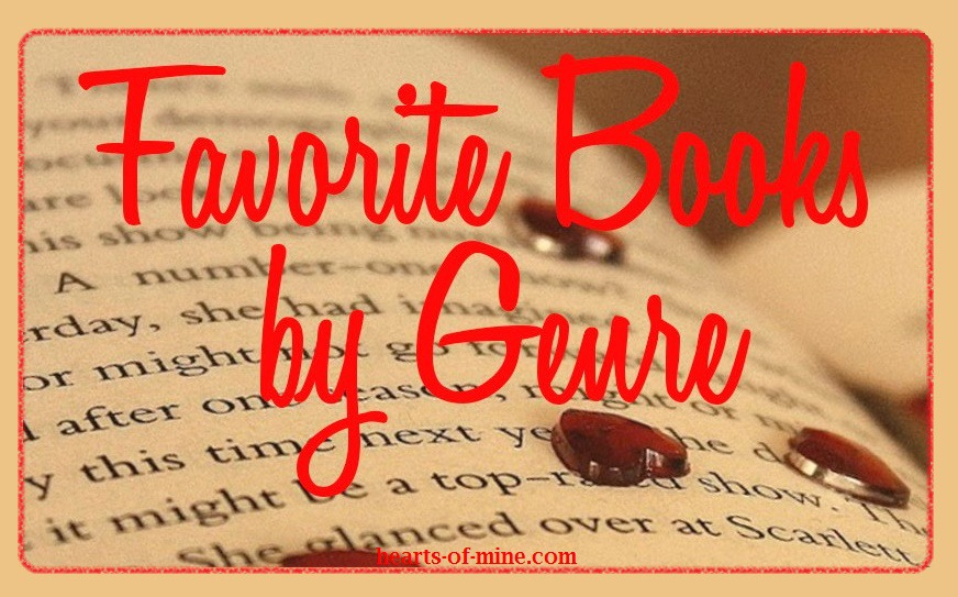 Favorite Books by Genres at Hearts-of-mine.com